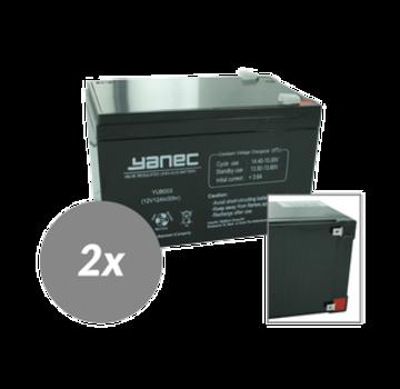Yanec UPS Batterij Vervangingsset RBC6 (Excl. Kabels)
