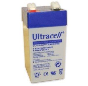 Ultracell Ultracell UL4.5-4 Loodaccu 4.5Ah 4V