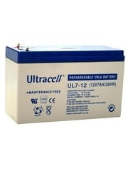 Ultracell Loodaccu 12V 7Ah (Ultracell UL7-12 VRLA)