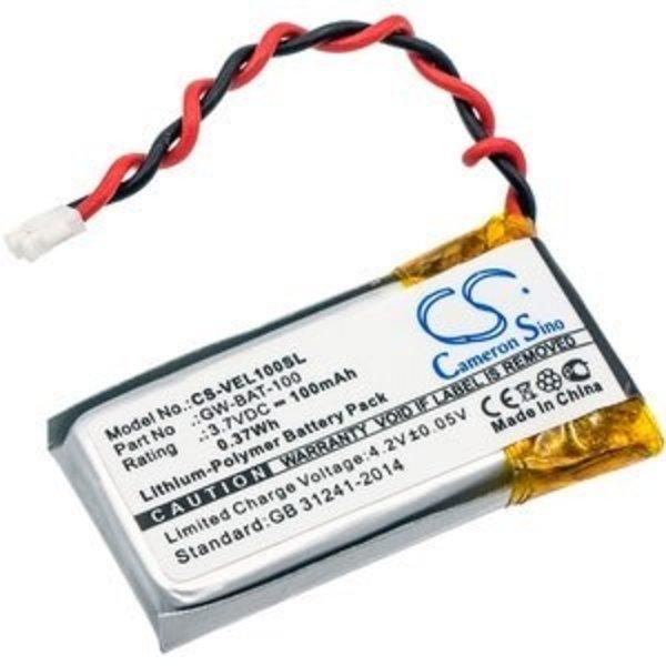 Replacement Accu 3.7V 100mAh