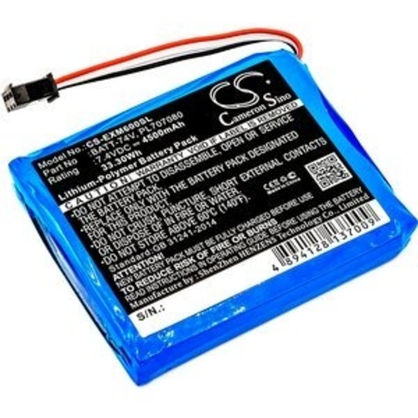 Replacement Accu 7.4V 4500mAh