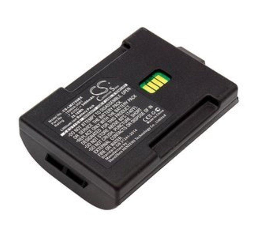 Barcode Scanner Accu 7.4V 3400mAh