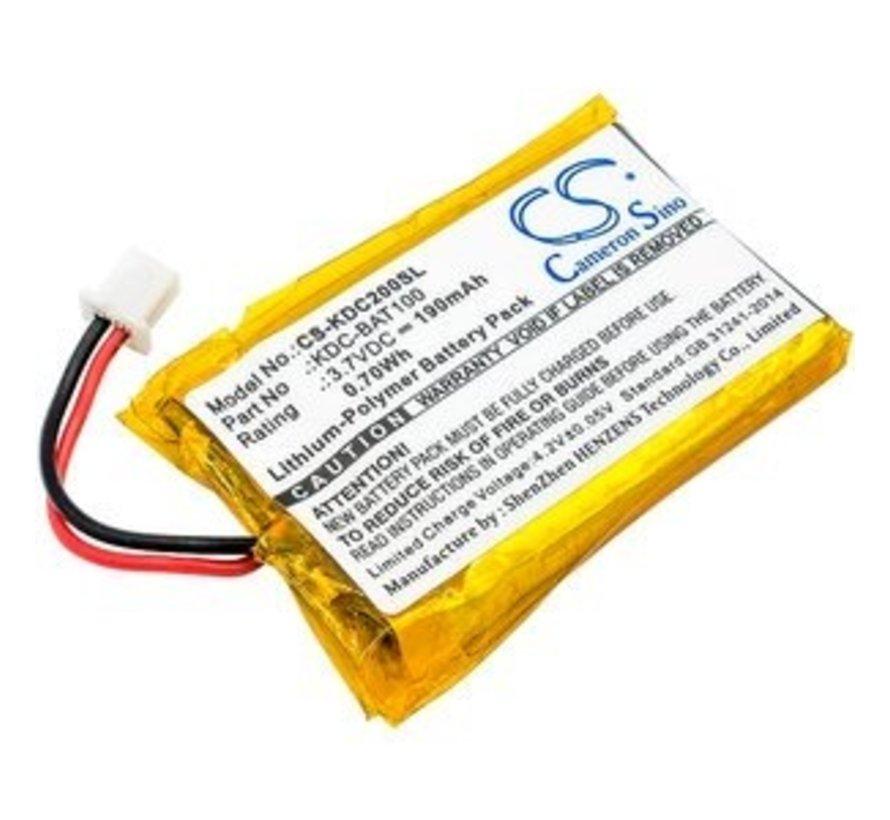 Barcode Scanner Accu 3.7V 190mAh