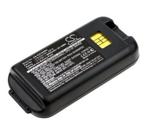 Replacement Barcode Scanner Accu 3.7V 6800mAh