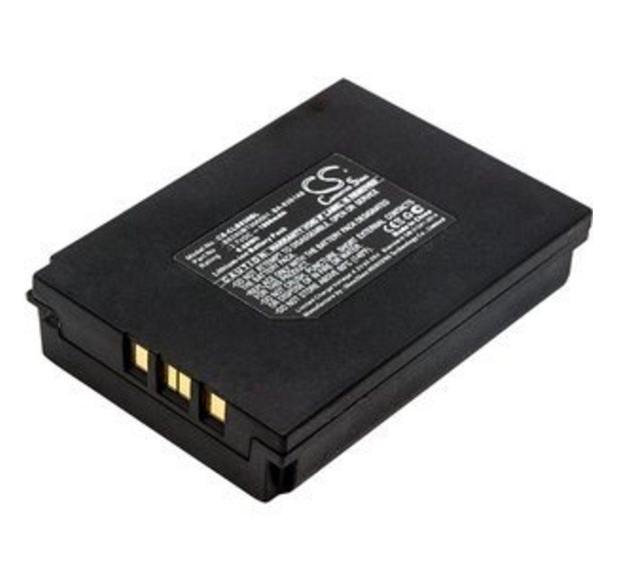 Barcode Scanner Accu 3.7V 1800mAh