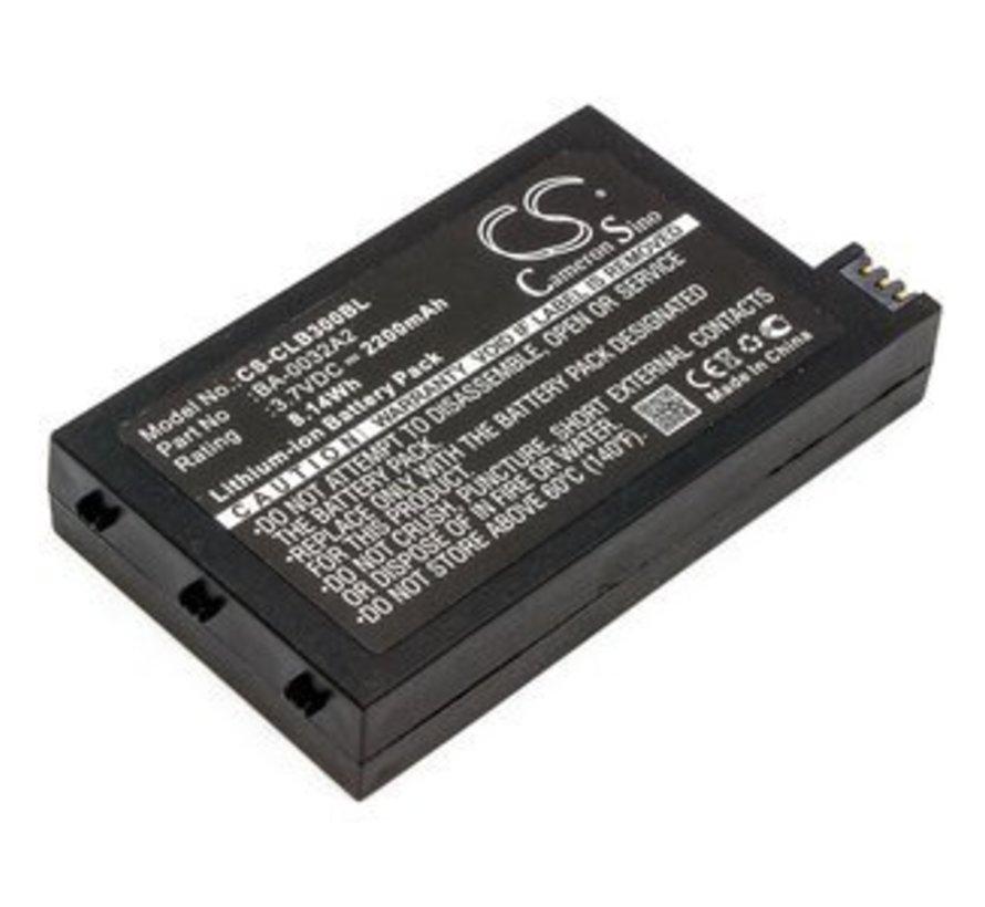Barcode Scanner Accu 3.7V 2200mAh