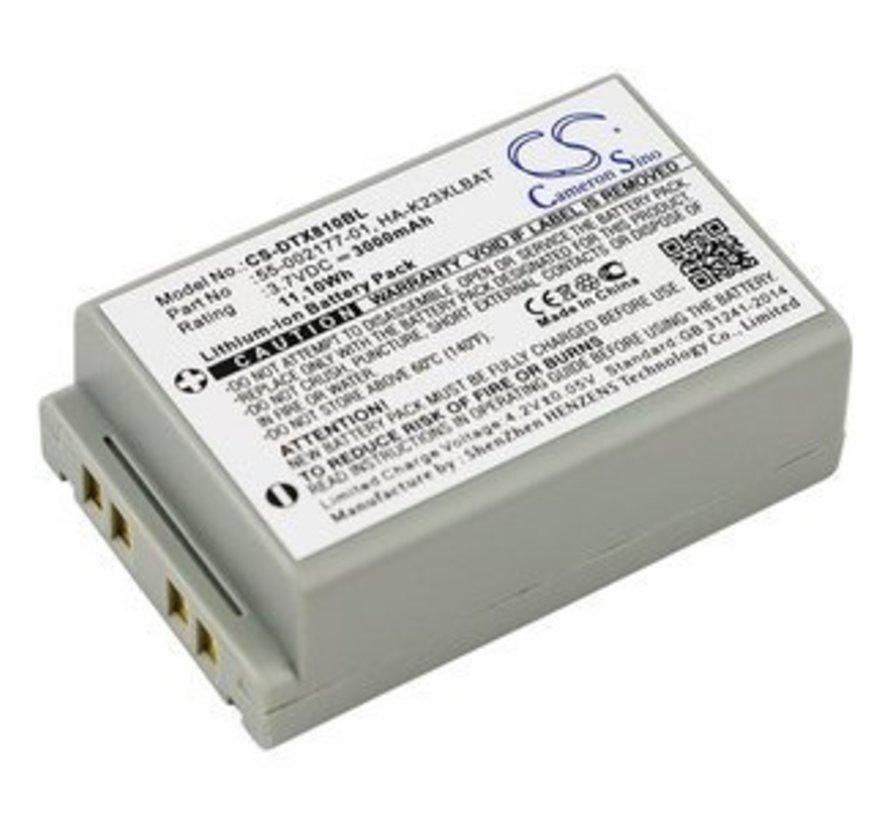 Barcode Scanner Accu 3.7V 3000mAh