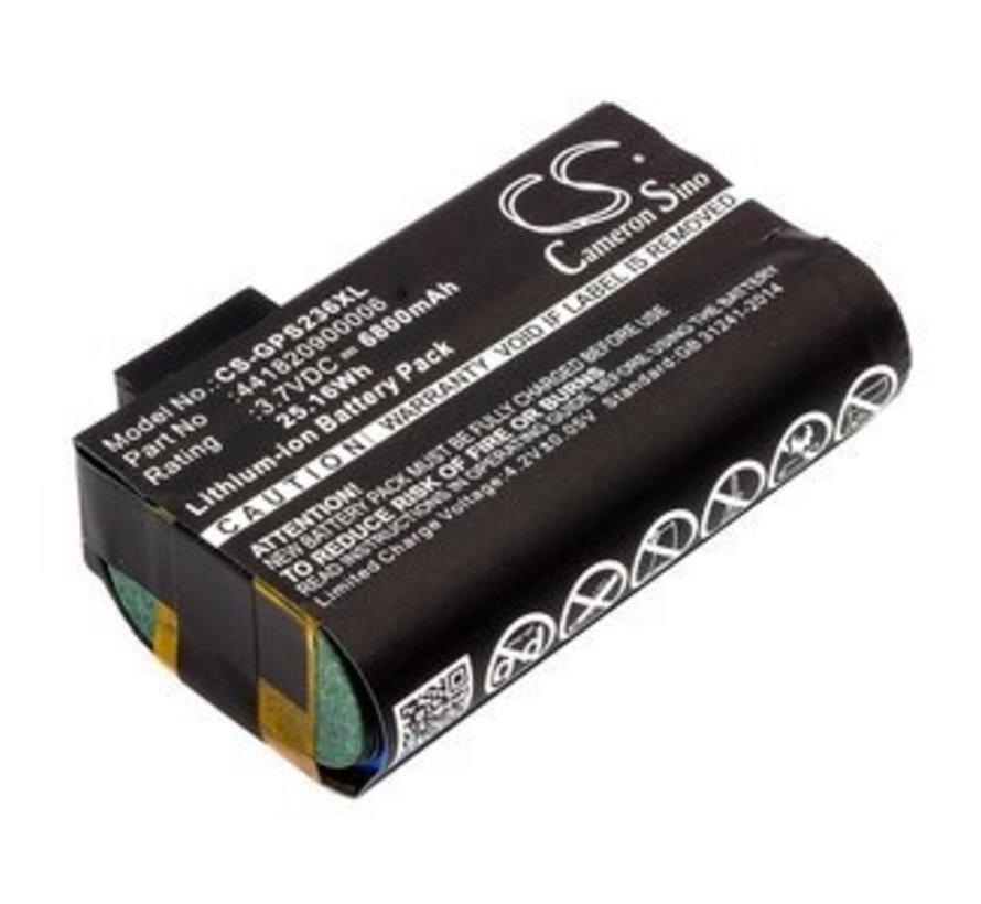 Barcode Scanner Accu 3.7V 6800mAh