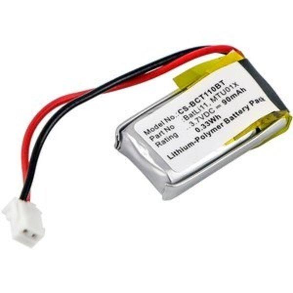 Replacement Alarm Accu 3.7V 90mAh