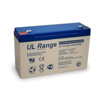 Ultracell Ultracell VRLA/Loodbatterij UL 6v 12000mAh