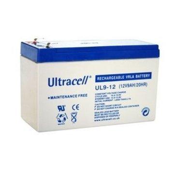 Ultracell Ultracell UL9-12 VRLA12V 9Ah Loodaccu 12V 9000mAh