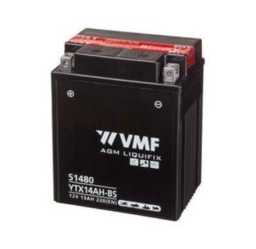VMF VMF Powersport Accu MF YTX14AH-BS 12V 13Ah
