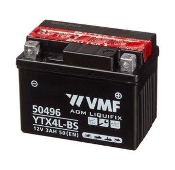 VMF VMF Powersport Accu MF YTX4L-BS 12V 3Ah