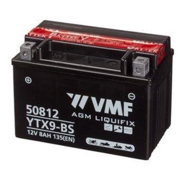 VMF VMF Powersport Accu MF YTX9-BS 12V 8Ah