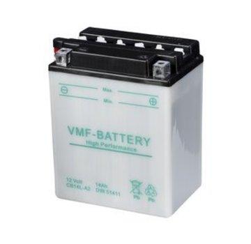 VMF VMF Powersport Accu YB14L-A2 / 12N14-3A 12V 14Ah