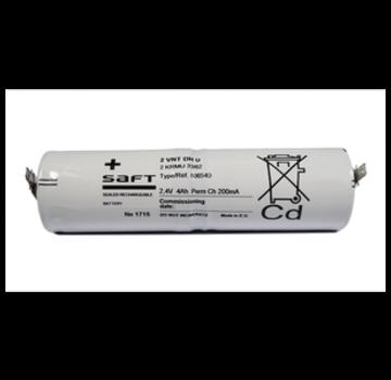Saft SAFT Accupack 2.4V 4000mAh NiCd - 2x D Staaf