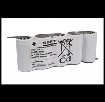 Saft SAFT Accupack 6.0V 1600mAh NiCd - 5x Sub C SBS