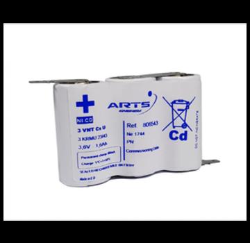 Saft SAFT Accupack 3.6V 1600mAh NiCd - 3x Sub C SBS