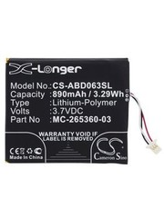 Replacement eReader accu voor Kindle 7, Kindle 7th Generation, WP63GW
