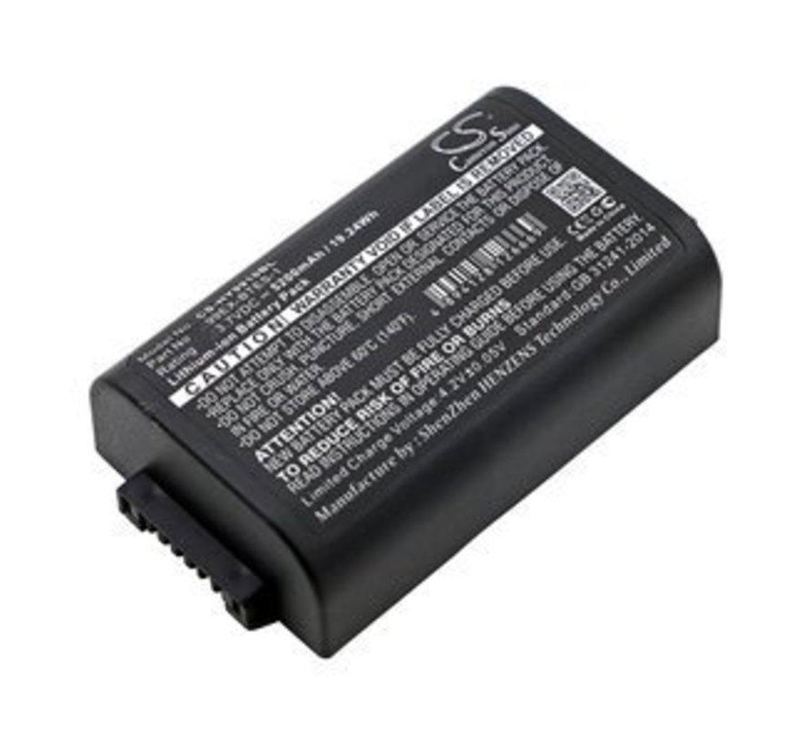Barcode Scanner accu voor 99EXhc, 99GX, Dolphin 99EX