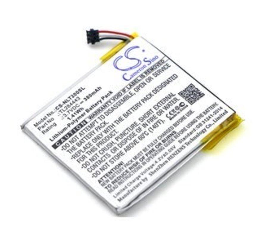 Alarm/beveiliging/Smart Home accu voor Learning Thermostat 2nd Genera