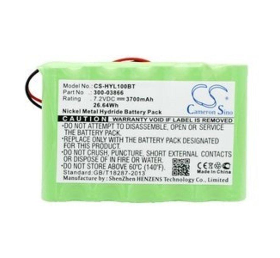 Alarm/beveiliging/Smart Home accu voor Lynx, lynx 5100, lynx 5200, lynx 5210, lynx touch 7000