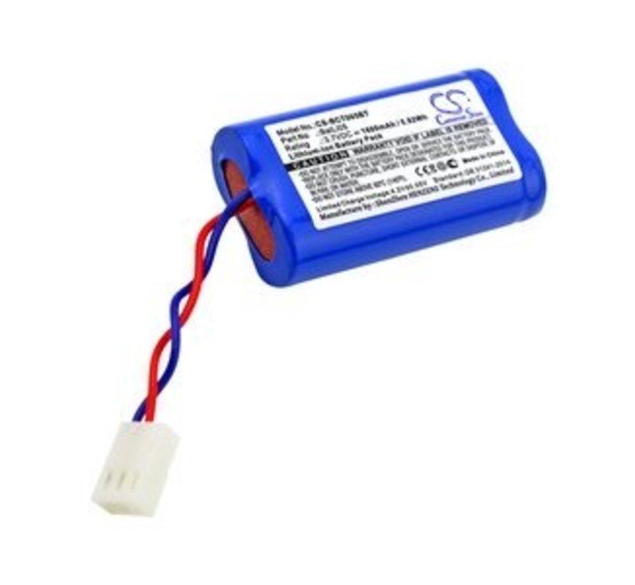 Alarm/beveiliging/Smart Home accu voor 145-21X Motion detectors outdo, D14111X, D14114X, D14201X, D