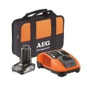 AEG AEG Gereedschap Accu Set 12V/4.0Ah + BLK1218 + Transporttas