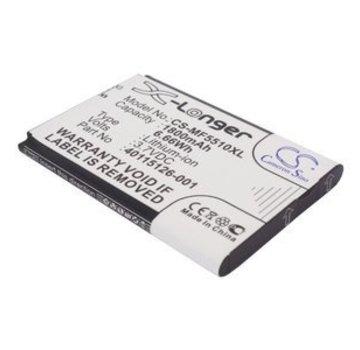 Blu-Basic Draadloze Router Accu voor Novatel Wireless MiFi 5510/MiFi 5510L/MiFi5510