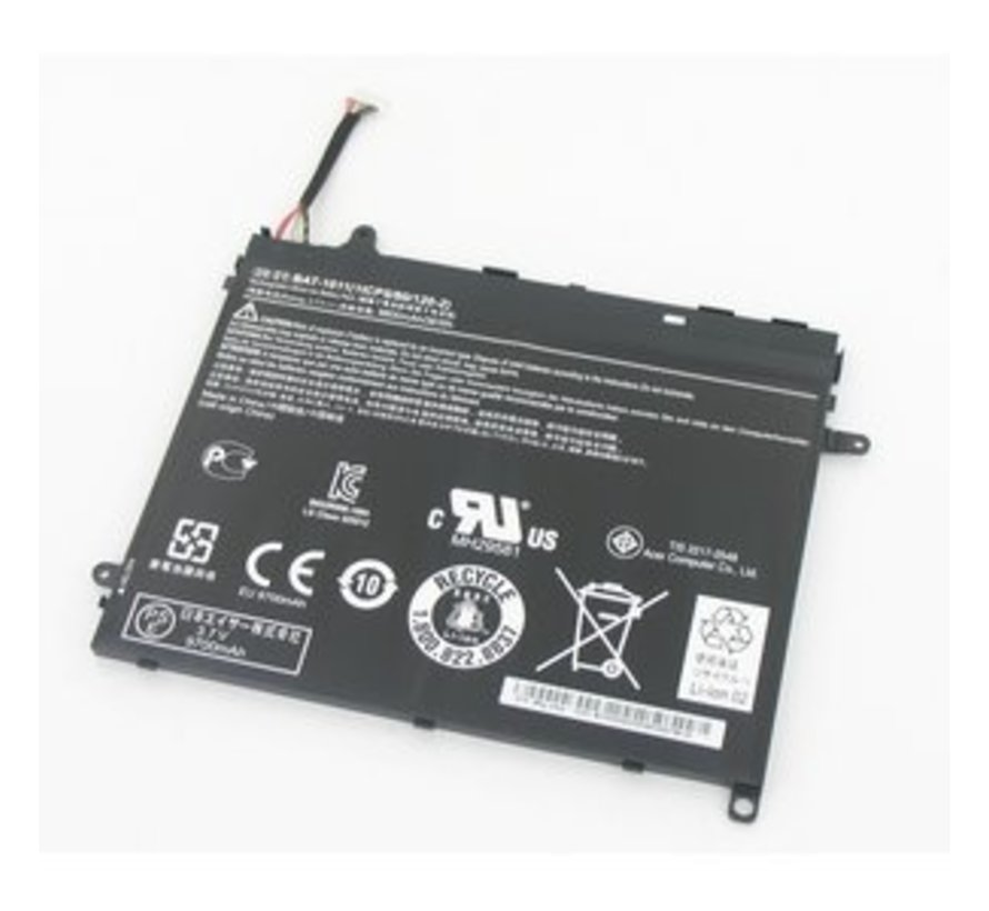 Acer Laptop Accu voor Acer Iconia A510, A511, A700, A701
