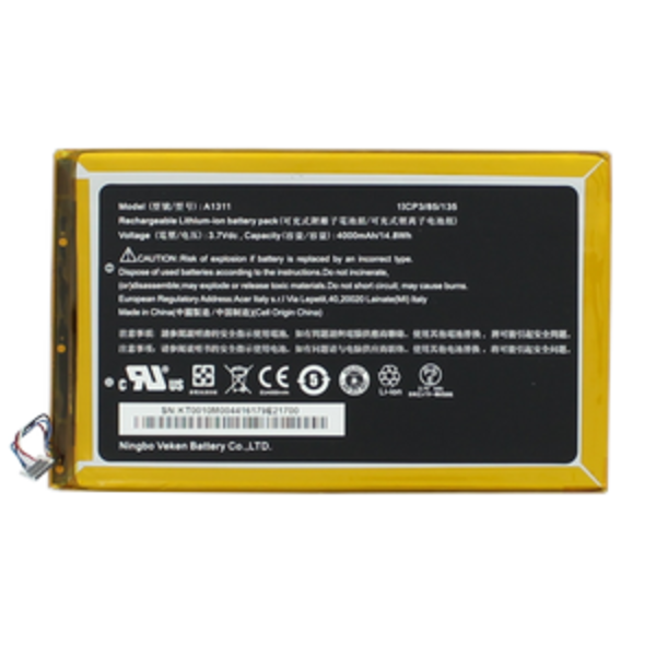 Acer Acer Tablet Accu