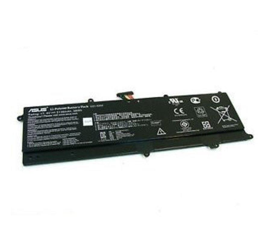 Asus Laptop Accu 5136mAh voor Asus VivoBook X201E/X202E