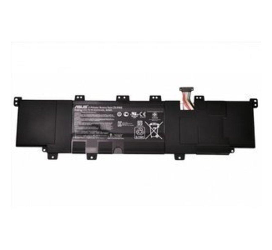 Asus Laptop Accu 4000mAh voor Asus Vivobook S400CA, Asus Vivobook S300CA
