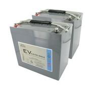 Dyno Europe AGM Accu 55Ah Vervangingsset (Excl. Kabels)