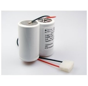 Saft Saft Accupack 2.4V 4000mAh NiCd - 2x D SBS incl. connector