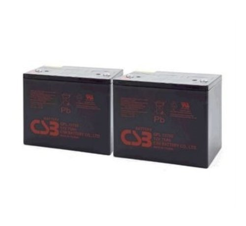 CSB Battery Accu Vervangingsset AGM (Excl. Kabels)