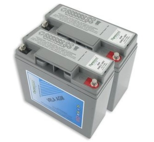 Dyno Europe AGM Accu 17Ah Vervangingsset (Excl. Kabels)