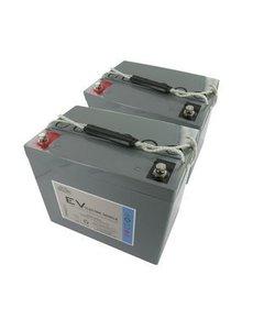 Dyno Europe AGM Accu 12V 80Ah Vervangingsset (Excl. Kabels)