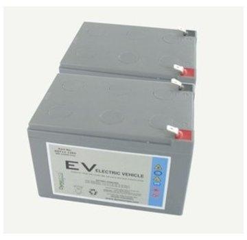 Dyno Europe Gel Accu 12V 12.3Ah Vervangingsset (Excl. Kabels)