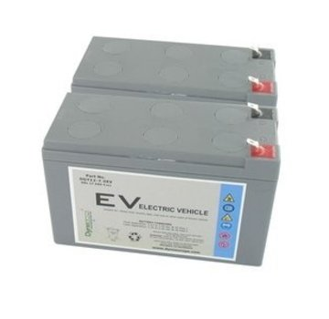 Dyno Europe Gel Accu 12V 7.5Ah Vervangingsset (Excl. Kabels)