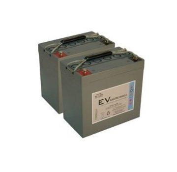 Dyno Europe Gel Accu 12V 55Ah Vervangingsset (Excl. Kabels)