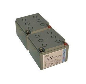 Dyno Europe Gel Accu 12V 26Ah Vervangingsset (Excl. Kabels)