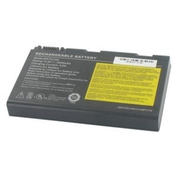Acer Acer Laptop Accu 14.4V 4300mAh voor Acer Aspire 3650/9500, Travelmate 2350