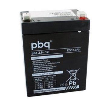 pbq PBQ Loodaccu 12V 2.9Ah