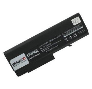 Yanec Yanec Laptop Accu Extended 10.8V 7800mAh voor HP ProBook 6550b/6450b/6540b/6730b, EliteBook 8440p/6930p