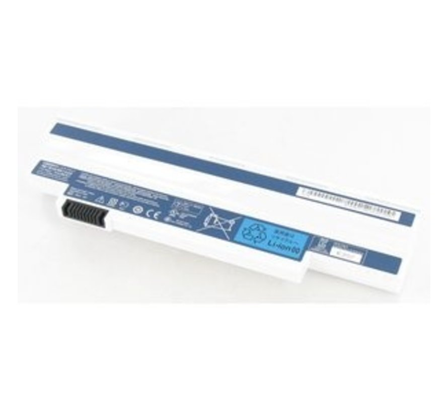 Acer Laptop Accu Wit 4400mAh voor Acer Aspire One 532h