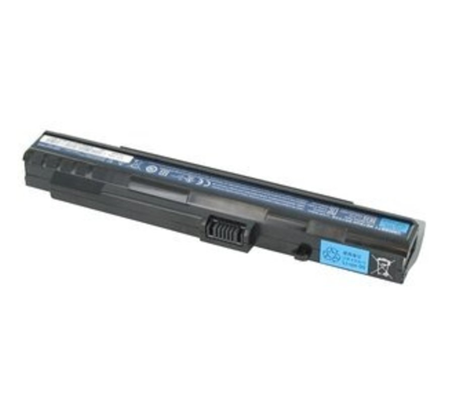 Acer/Packard Bell Accu 4400mAh Zwart voor Dot S series