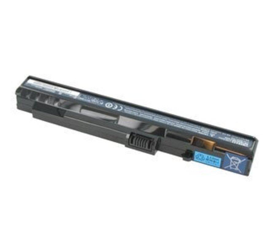 Acer/Packard Bell Accu 2200mAh Zwart voor Dot S series