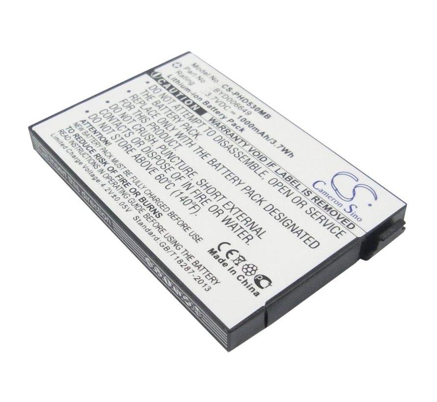 Babyfoon accu voor Philips Avent SCD530/SCD535/SCD540