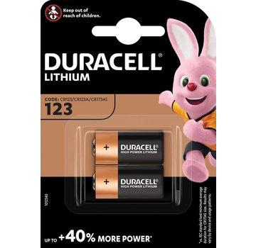 Duracell Lithium CR123 3V blister 2